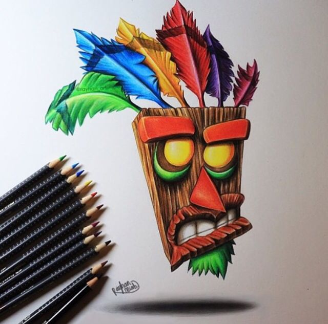 Crash Bandicoot (PlayStation Game) Art