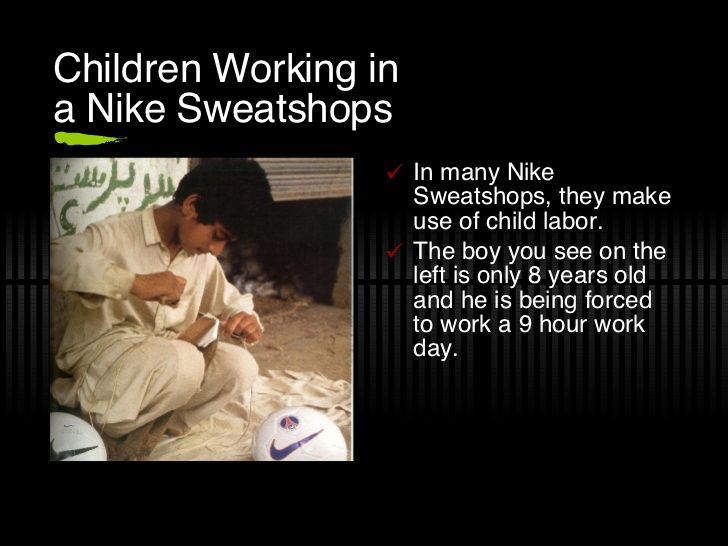 sweatshops and child labor essay Sweatshops and child labor essay thesis - cardiff met creative writing ma posted on april 9, 2018 @oxyyy_gen essay 3 different papers or pagsasamahin na sa isa.