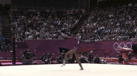 Gabby Douglas's All-Around Gymnastics Gold In GIFs