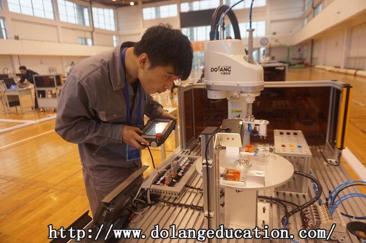 Industrial Robotics Application Training System