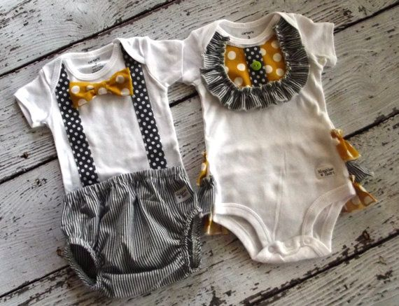Hey, I found this really awesome Etsy listing at https://www.etsy.com/listing/197089212/boy-girl-twin-set-one-piece-by-carters