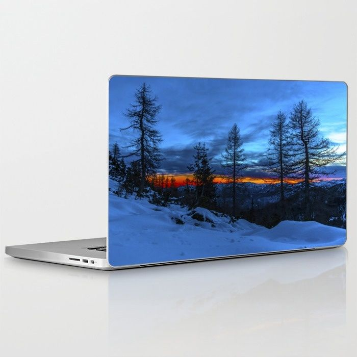 Warm Streak 1 Laptop & iPad Skin by Mixed Imagery | Society6