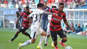 Vitória na Veia! Na Arena Fonte Nova, Vitória sofre revés contra o Corinthians pela Série A - Vitória na Veia!