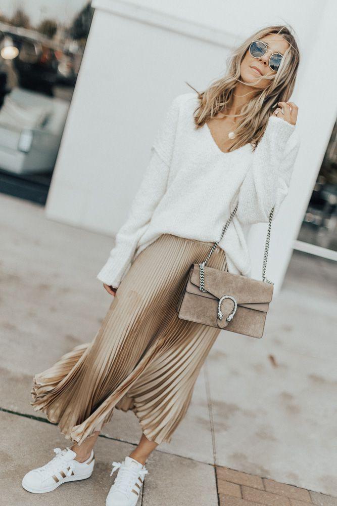 Buy Amazon: amzn.to/31bcjOk Metallic Pleated Skirt#Skincare #Skin #ClearSkin #An…
