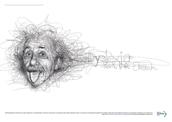 Dyslexia didn't stop them by Vince Low, via Behance