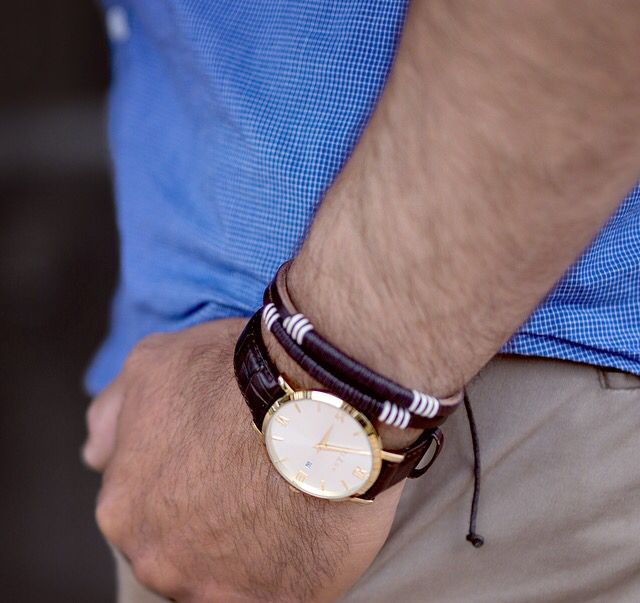 Brown//Gold ~ Willow Watches ~ Endless Combinations.