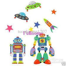 """Résultat de recherche d'images pour """"robots wall stickers"""""""