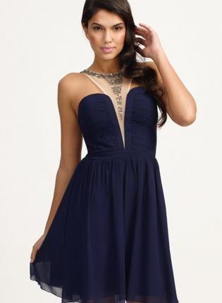 Embellished Racer Front Dress,  Dress, Embellished Racer Front Dress, Chic