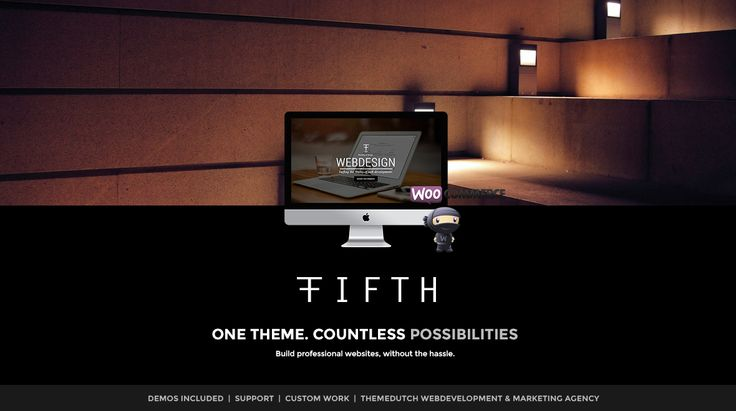 FIFTH - Business - Portfolio - Ecommerce - Multi-Purpose WP Theme