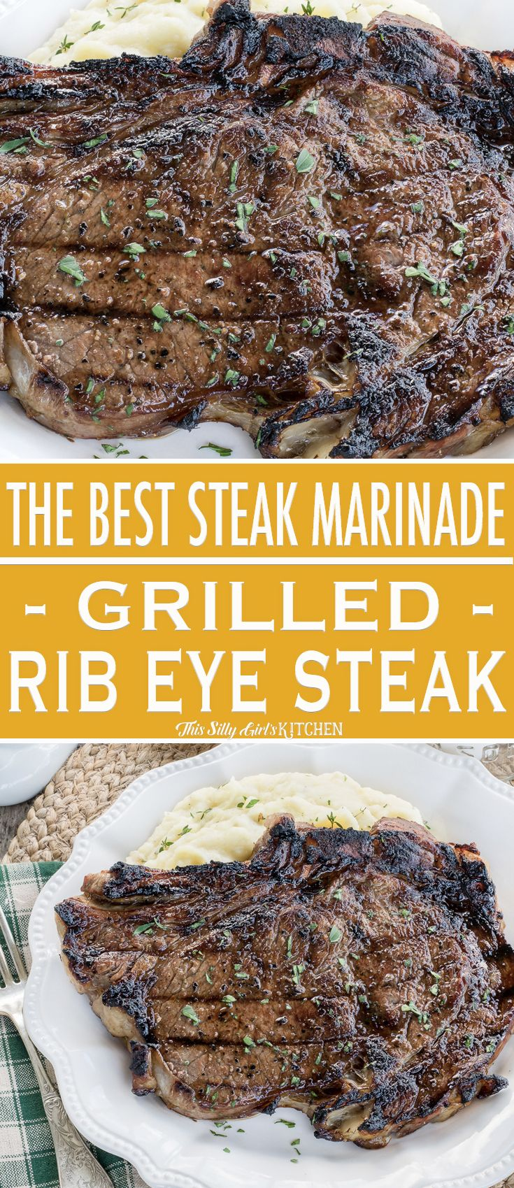 The Best Steak Marinade For Grilled Ribeye Steaks Recipe