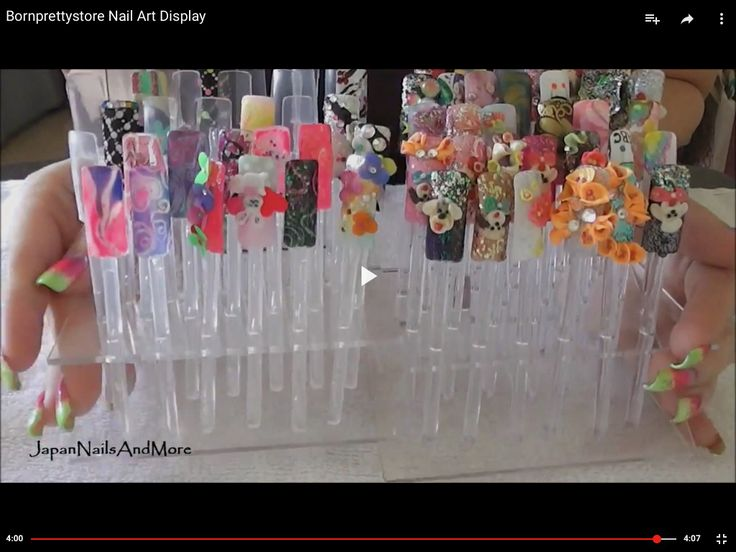 15 best nail art displays images on pinterest display nail art display prinsesfo Image collections