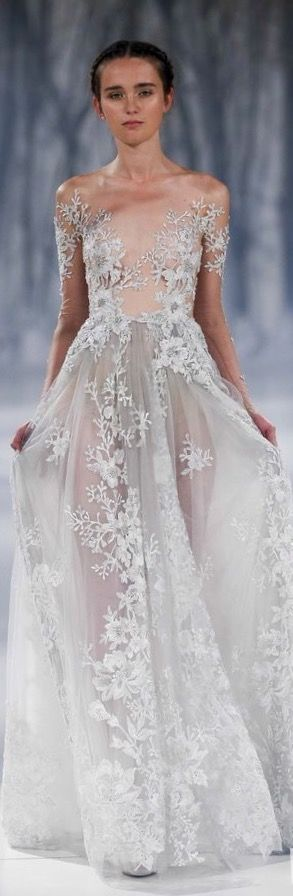 TD ❤️ Paolo Sebastian 2016 A|W Couture - The Snow Maiden