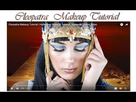 Cleopatra  Makeup Tutorial | Makeup Tutorial Channel... See More Here : http://goo.gl/jDA1dc  Hope Your Enjoy! ..... Like, Share, Comment & Subscribe Us!  More Makeup Tutorial Channel videos ... Click Here: https://www.youtube.com/channel/UC3SbRN6zFEgCdnKHZj28B4w  #halloweenmakeup #halloweenmakeuptutorial #makeup #makeuptutorial #easymakeup #makeupvideos