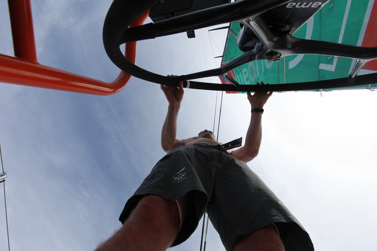 Leg 1 - Day 3 / Groupama in the Volvo Ocean Race 2011-2012