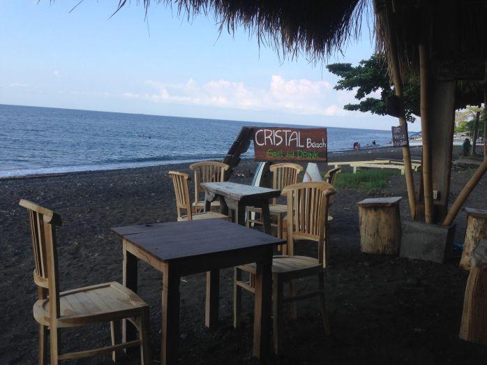 Cristal Beach Warung, Amed, Bali