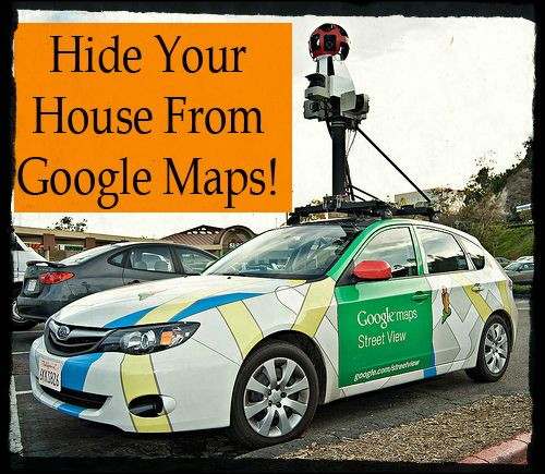 """Google maps is here to stay but you don't have to allow your home to be seen by strangers online! You can hide your house from Google.  Google actually owns cars that travel the United States photography our neighborhoods with their """"street view"""" cameras. If your home is on a visible street then chances are it is on Google Maps.   #googlemaps #hidingfromgoogle.gettingoffgooglemaps #safety"""