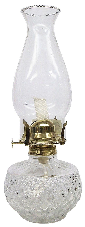 Preferred 270 best Clear glass oil lamps images on Pinterest   Kerosene lamp  ZA35