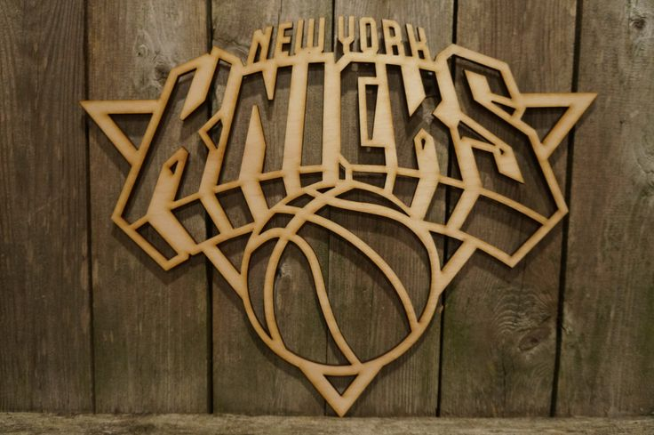 NY New York Knicks logo wall hanging sign