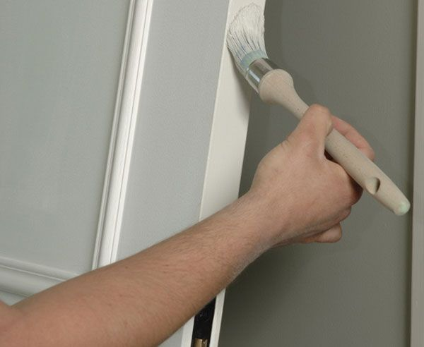 ▷ Türen streichen ▷ So wird's gemacht