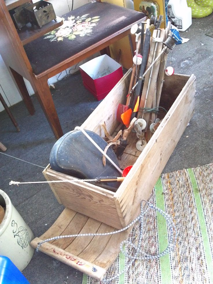17 best ideas about ice fishing sled on pinterest ice for Homemade ice fishing tip ups