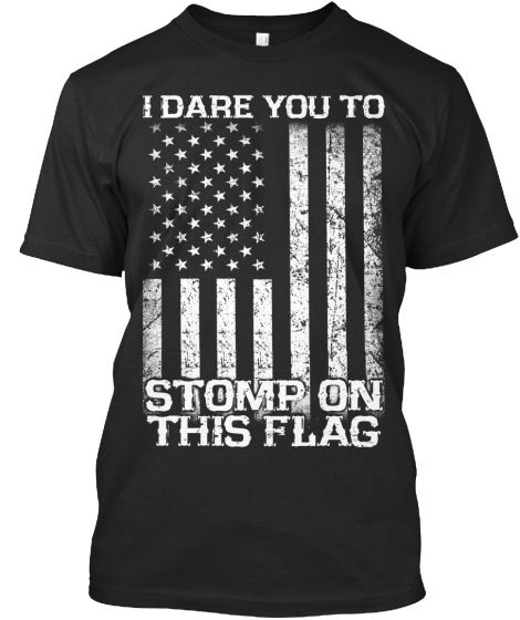 Stomp on this Flag