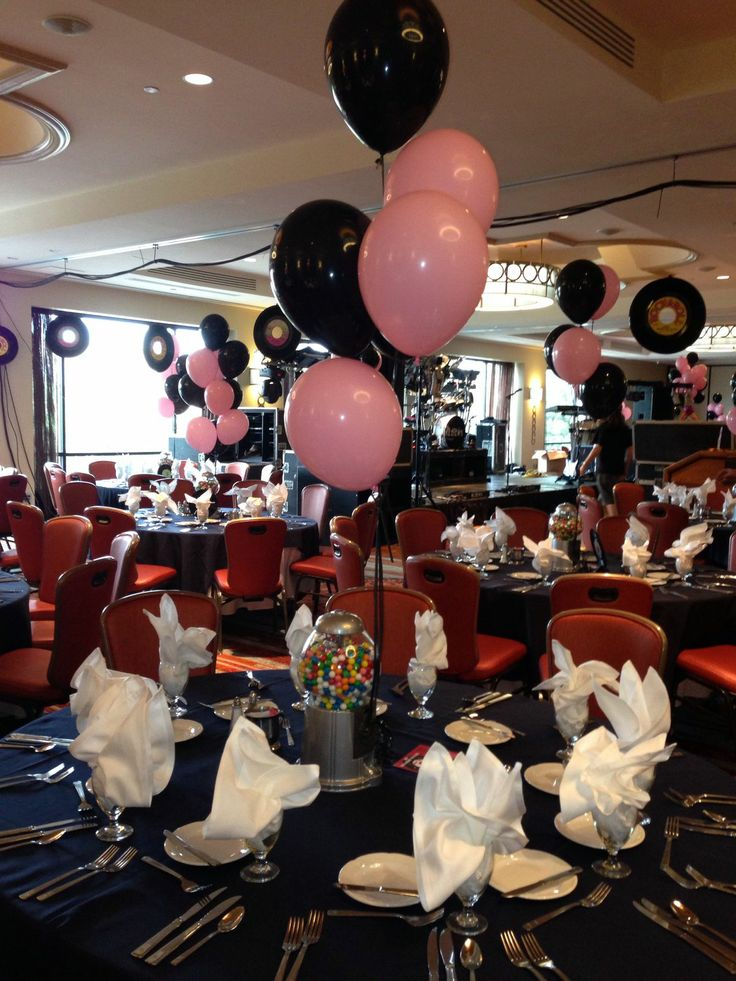 10 best Rock n roll party theme ideas images on Pinterest Fifties