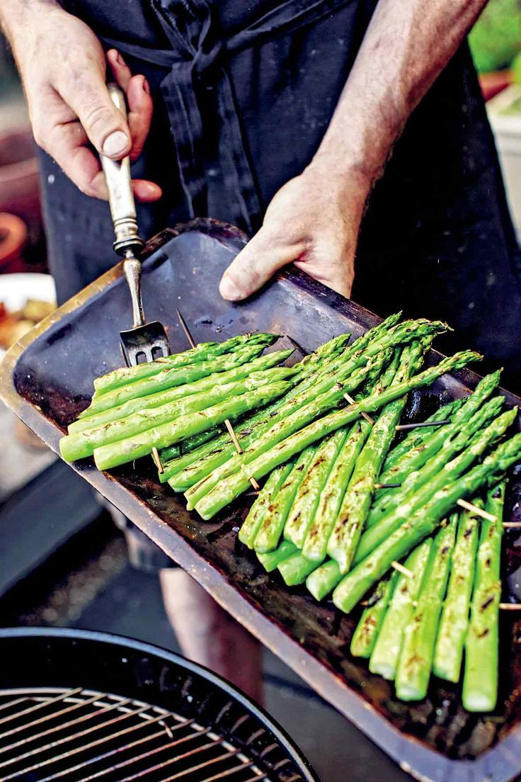 How to Grill Asparagus Recipe | Bryan Calvert's Brooklyn Rustic