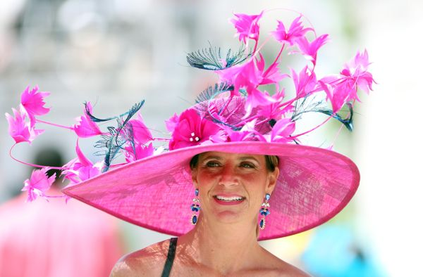 Kentucky Derby 2014 hats and fashion