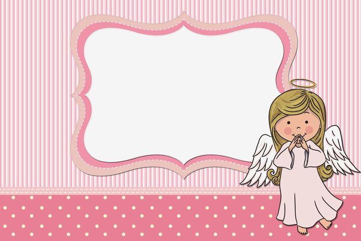 Angelita: Invitaciones para Imprimir Gratis.