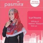 Jilbab Segiempat Rosette Pasmira
