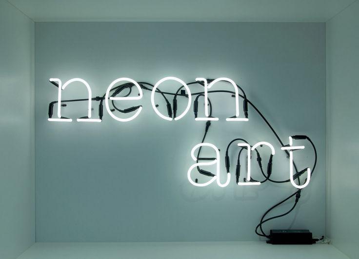 Neon Art Seletti Neon Buchstaben Lampe