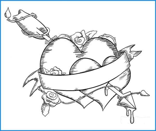 schöne liebes bilder zeichnen wie zeichnet man einen gruss