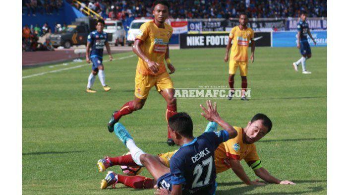 Pelatih Sriwijaya FC Enggan Salahkan Teja Paku Alam atas Gol Penyeimbang Arema FC