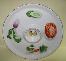 Vintage Ironstone Serving Plate - IDE Bros Japan