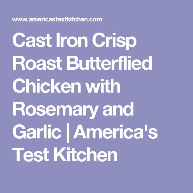 America S Test Kitchen Butterflied Chicken