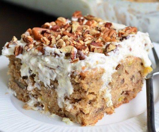 HUMMINGBIRD POKE CAKE | Cake And Food Recipe