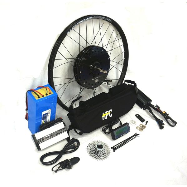 Black Lightning Electric Bike Conversion E Bike Kit