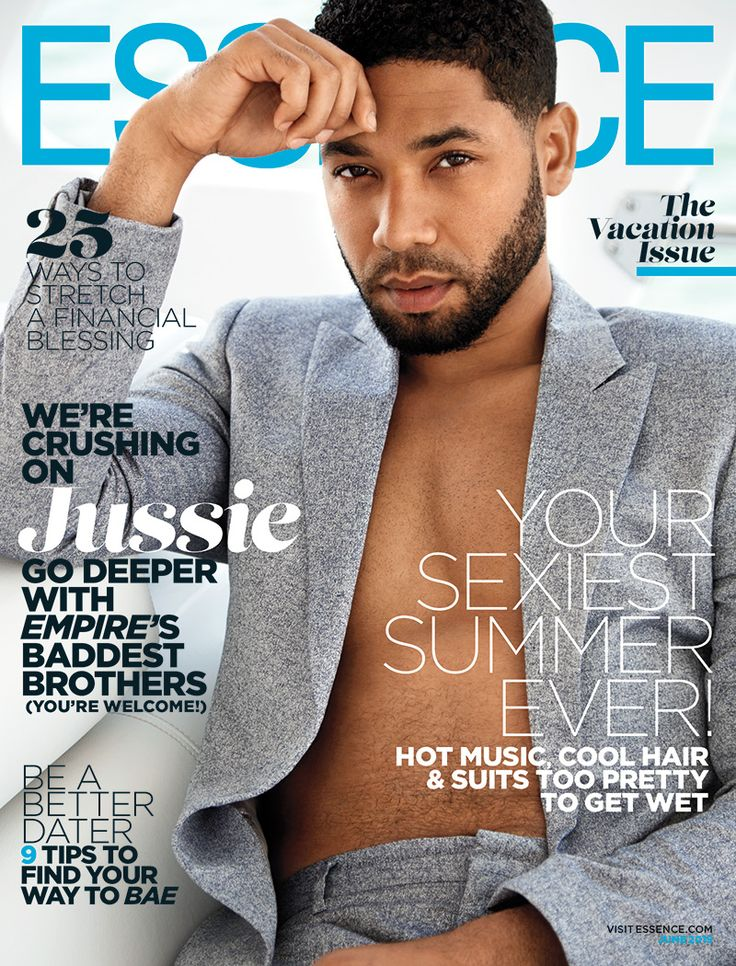 'Empire's' Jussie Smollett, Trai Byers and Bryshere 'Yazz' Gray Cover June Issue of ESSENCE