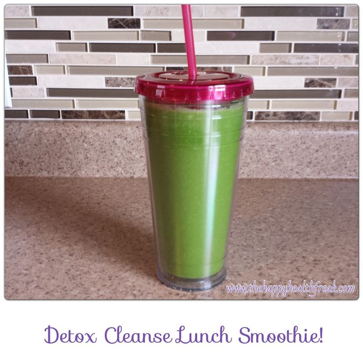 Dr. Oz Detox Cleanse Lunch Smoothie