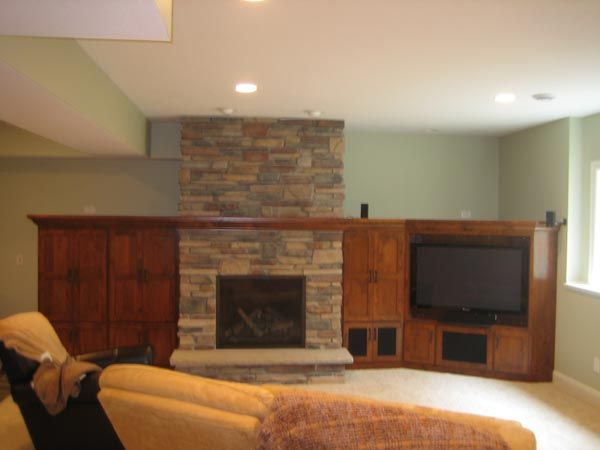 17 best images about fireplace ideas on pinterest basement ideas mantels and mantles - Fireplace finish ideas ...