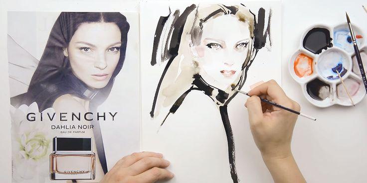 Come+disegnare+ritratti+di+moda