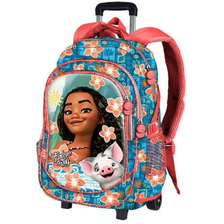 Trolley VAIANA Disney sac à dos à roulette VAIANA moana fleur de tiare 2017 | Vêtements, accessoires, Enfants: vêtements, access., Filles: accessoires | eBay!