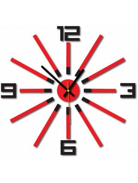 3D кольорові настінні годинники WARRAS, колір: чорний, червоний Артикул  X0032-RAL9005-RAL3000 Стан:  Новий товар  Наявність:  In Stock  Прийшов час для змін! Прикрашати годинник оживити будь-який інтер'єр, підкреслити чарівність і стиль вашого простору. Їх тепло в корпус з новим годинником. Настінний годинник з оргскла є чудовою прикрасою вашого інтер'єру.
