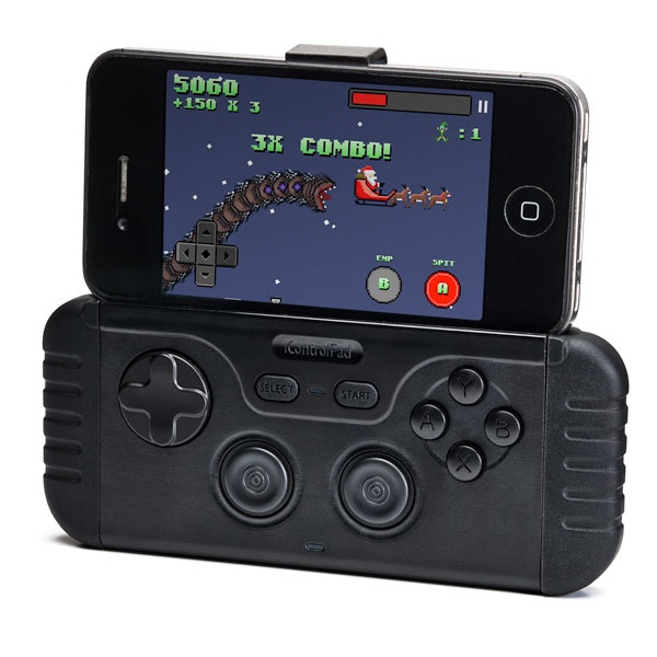 iControlpad: Turn Your iPhone Into a Portable Gaming System