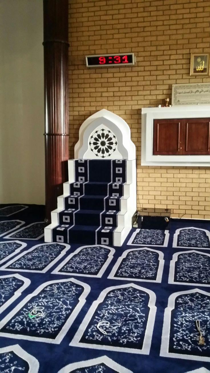 Musjid Mimbar by An Najjaar Interior