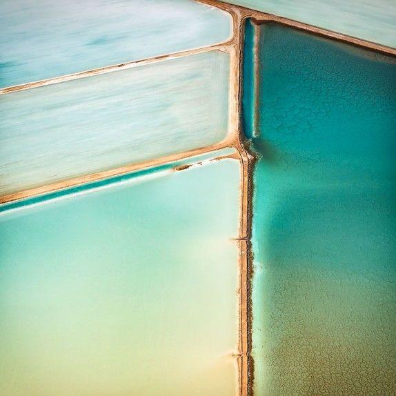 Shark Bay Aerial Abstract, Gascoyne Region, Western Australia - by Ty Stedman Photography (https://tystedman.photo)