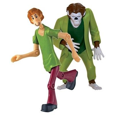 Quest Scooby Doo Twin Pack Action Figures Shaggy and the Wolfman - 5 inch