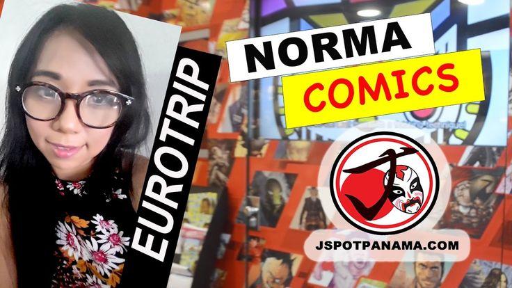 EUROTRIP: NORMA COMICS de BARCELONA