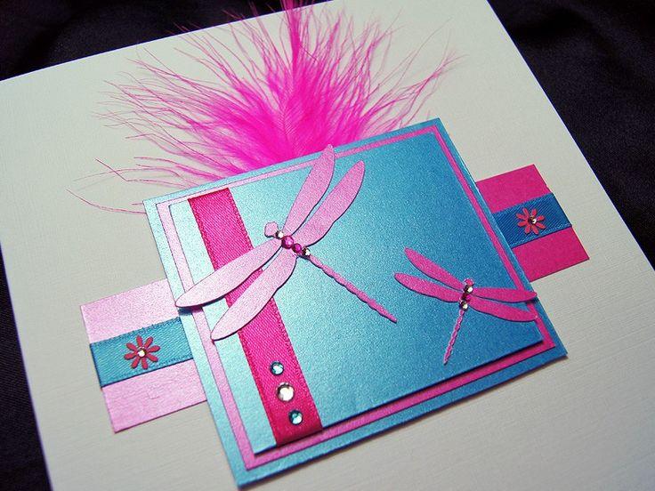 Aurora - Handmade Birthday Card
