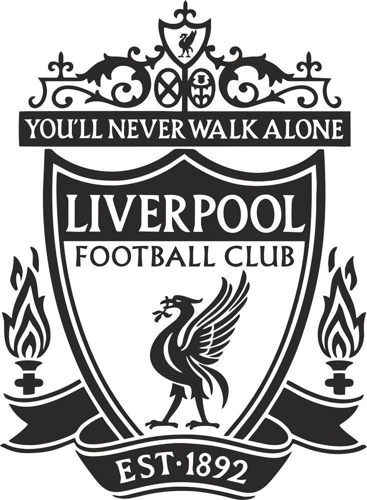 Liverpool Badge Wall Decal Art Stickers Football Club Sport Bedroom Mural/LFC | eBay